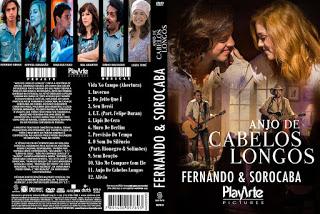 DVD Fernando & Sorocaba Anjo de Cabelos Longos DVDR