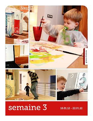 projet 52 semaines semaine 03 page de gauche
