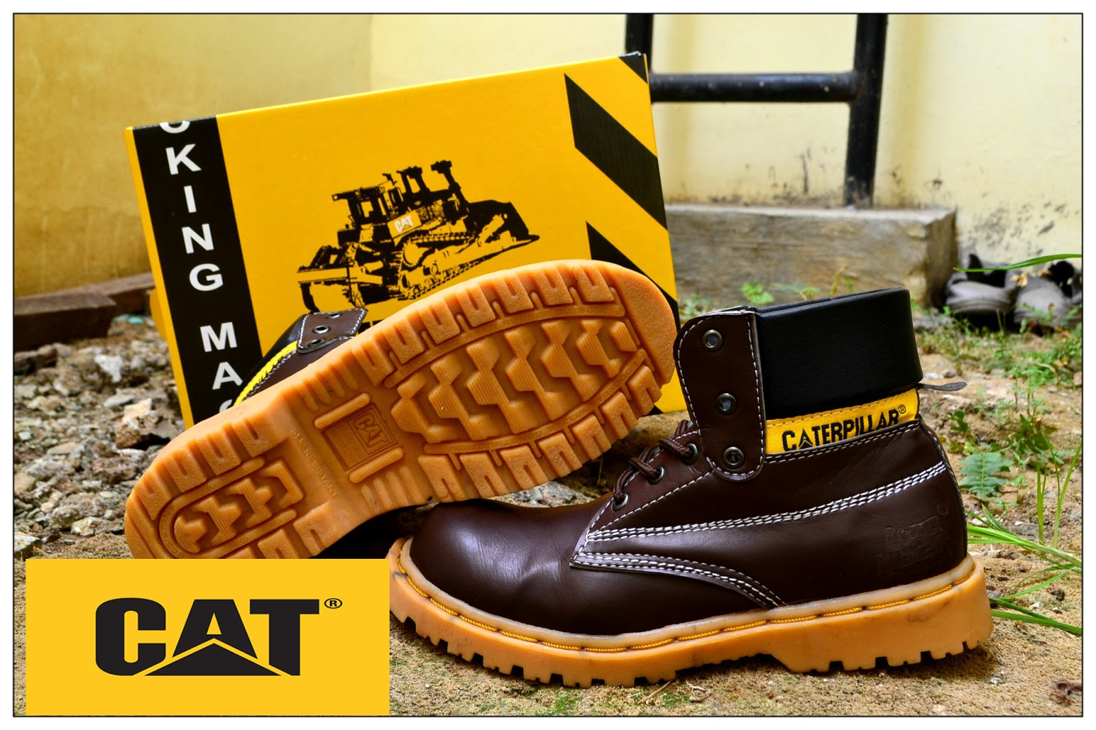 Sepatu Caterpillar Kw Super Boots Safety