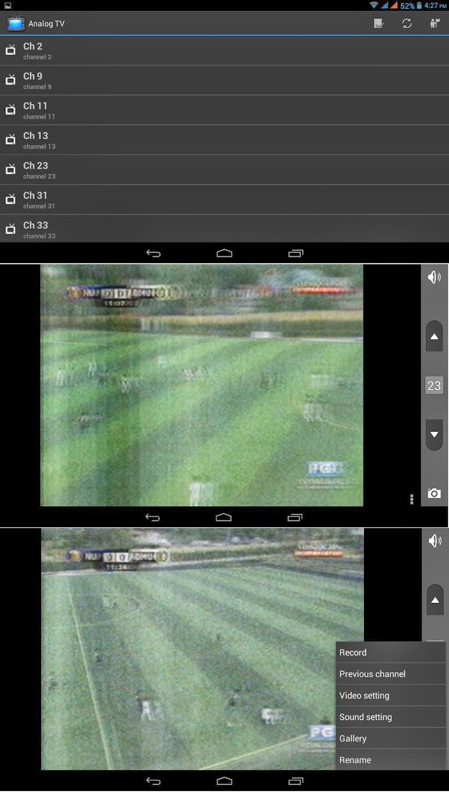 SKK Mobile Cyclops II Analog TV