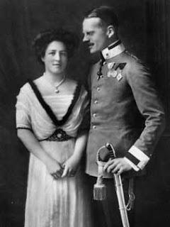 Prince Georg de Bavière et archiduchesse Isabella d'Autriche