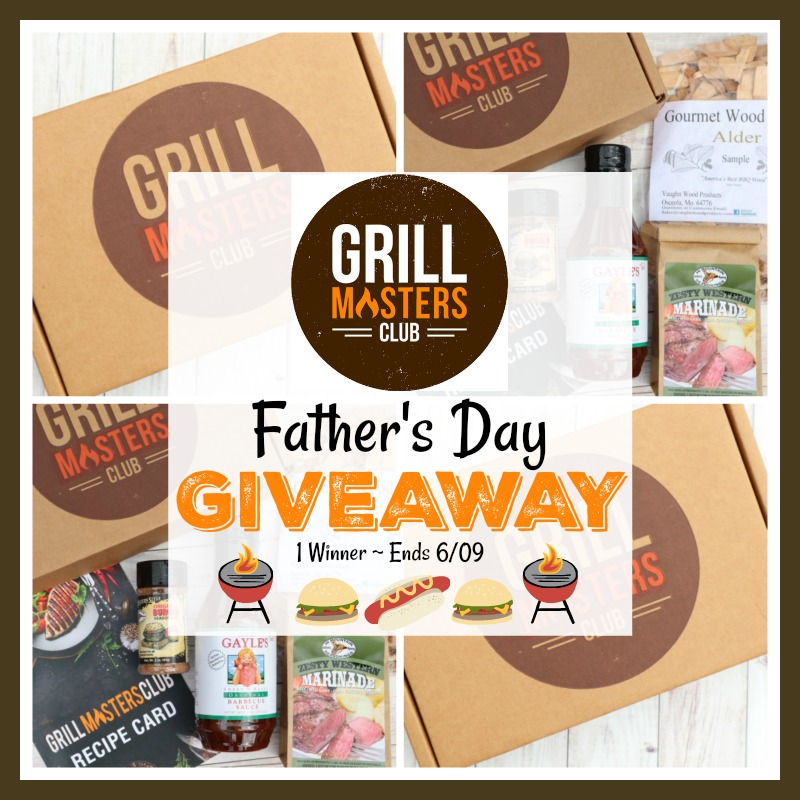 GrillMasters Father's Day Giveaway