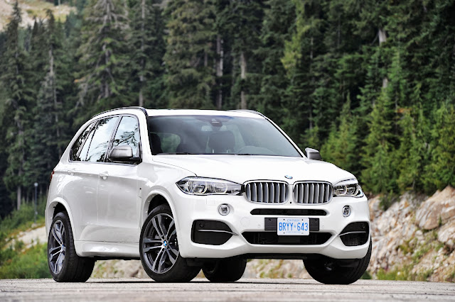 BMW X5 M50d: Intriguing and Loaded with Torque