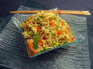 Riz sauté végétarien