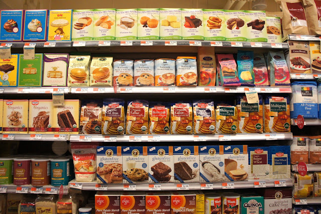 gluten free shopping at Whole Foods New York