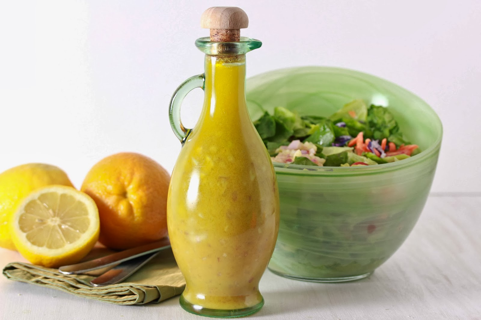 ... Decker: Looking for a new homemade salad dressing? Look no further