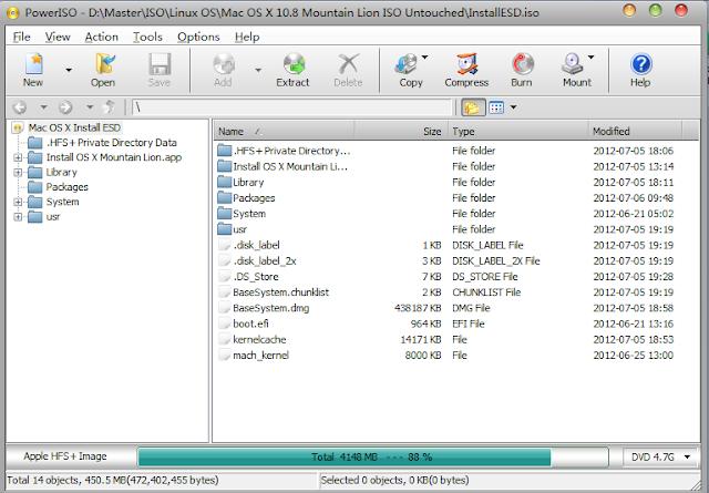 Cara Membuat Boot Installer USB Mac OS X Lion melalui