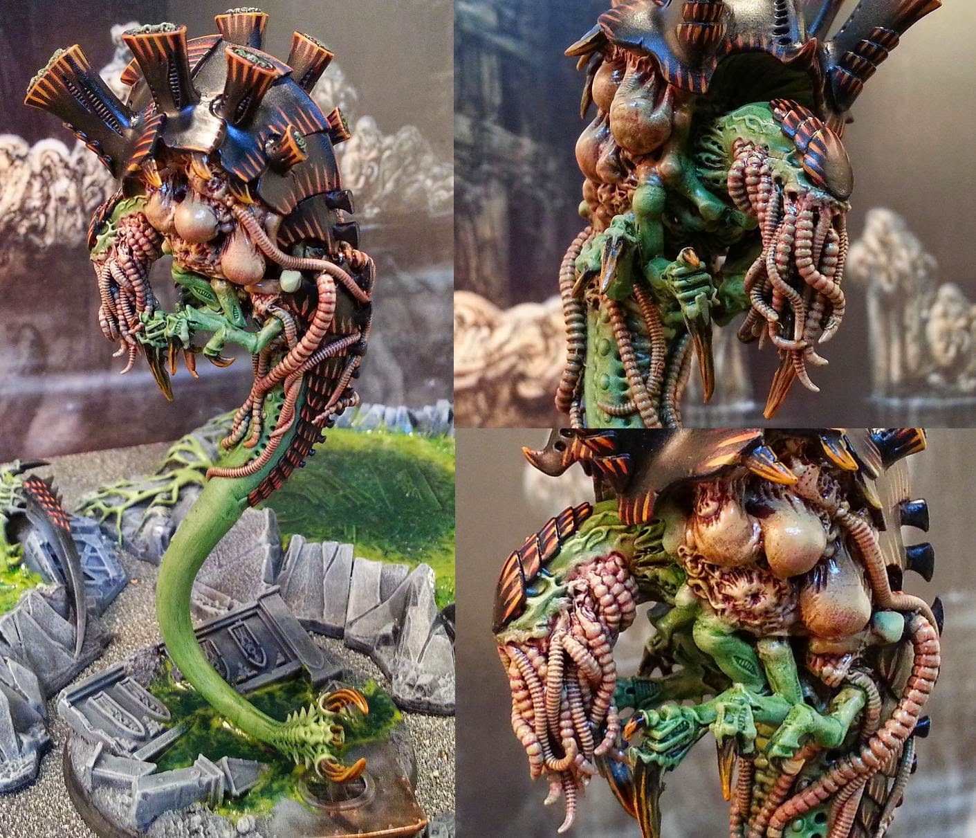 Green Stuff Industries: MonkeyChucka's Amazing Malanthrope!