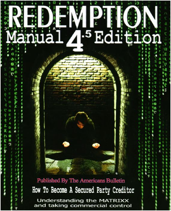 Redemption Manual Download -- Secured Party Creditor