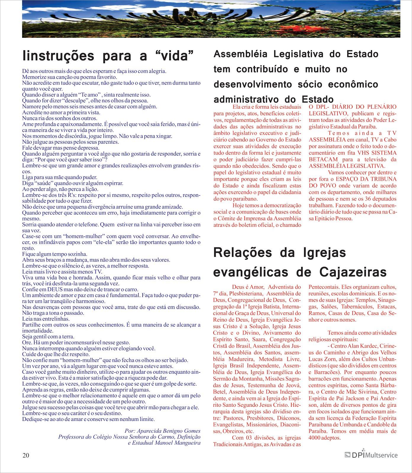 ATIVIDADES  COMUNITÁRIAS DO JORNALISMO ESCRITO MESMO SEM APOIO  DO ESTADO