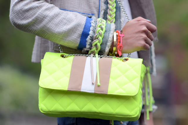 diy,diy inspiration,neon, neon yellow, neon diy,braid,easy braid,rope diy,rope bracelet,neon