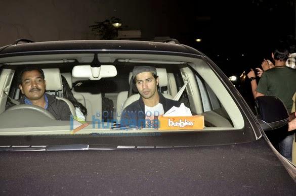 Bollywood Celebrities 'Gunday' Special screening