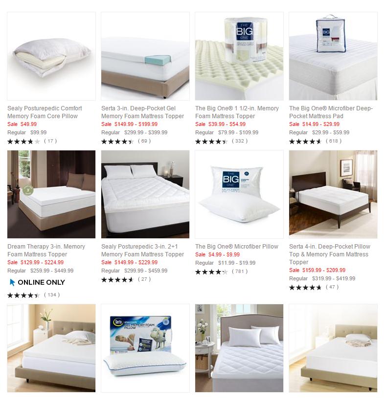 bedding memory foam pillow mattress toppers mattress pad pillows