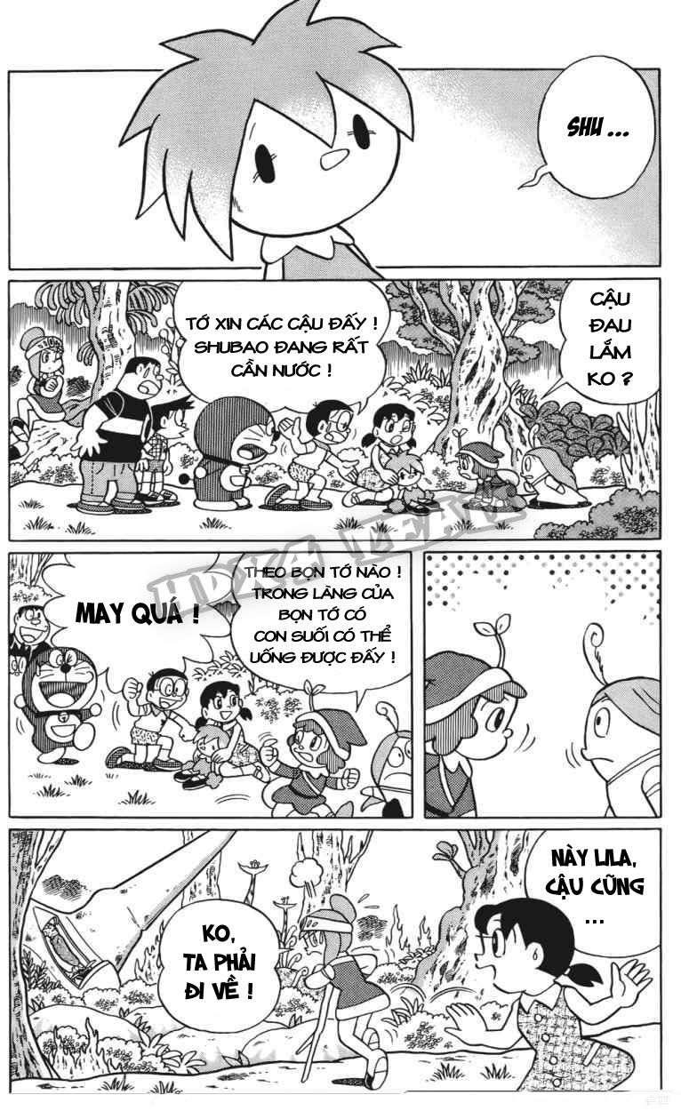 Truyện tranh Doraemon Dài Tập 25 - Nobita và truyền thuyết thần rừng trang 142