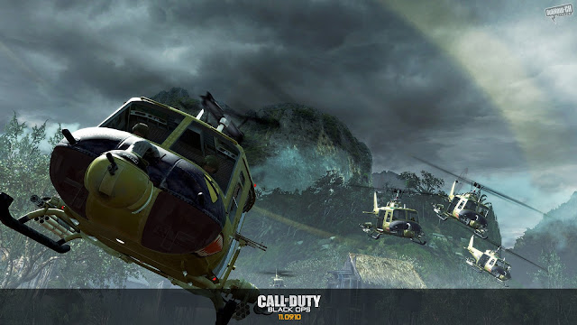 Call of Duty Black Ops Helicopsters