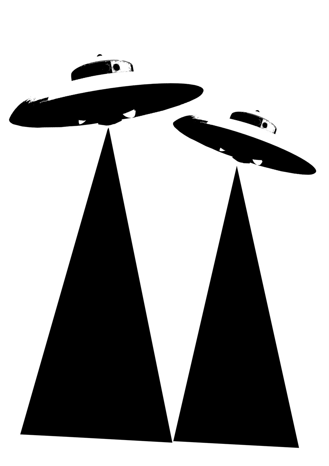 Ufo stencil galleryhip com the hippest galleries