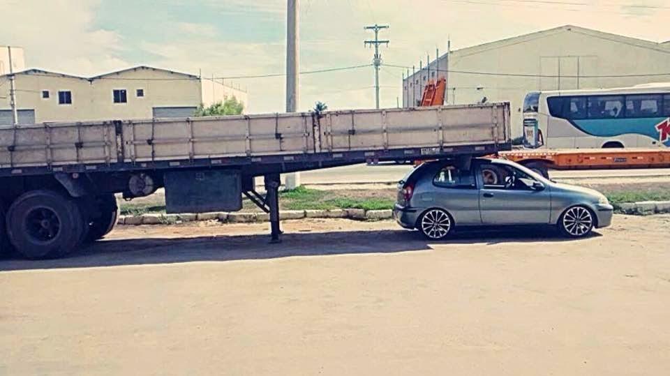 Fiat Palio top, aí sim é literalmente carreta