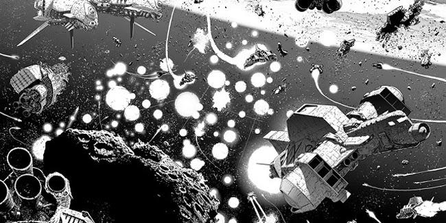 mondadori comics hammer recensione space tavola disegni fumetto splash page giancarlo olivares