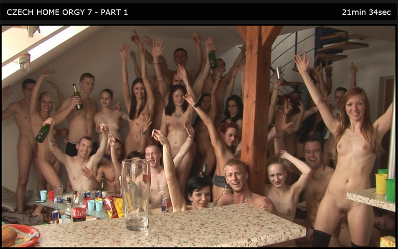 Czech Home Orgy 07 Part 1