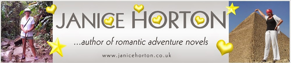Janice Horton - author of romantic adventure novels