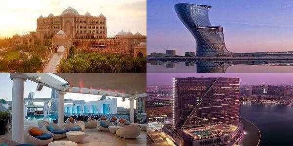 Abu Dhabi Luxury 5 Star Hotel List