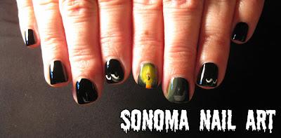 Sonoma Nail Art 31 Day Nail Art Challenge Gradient Nails