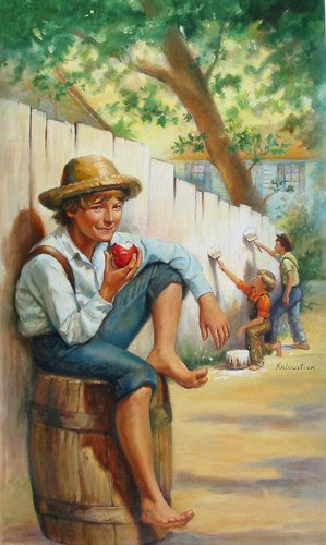 a review of the story of tom sawyer Tom sawyer biography, pictures, credits,quotes and more.