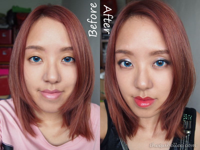 Transformation with NARS Eyeshadow