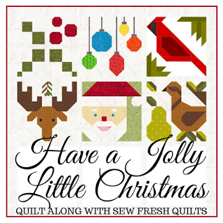 Jolly Little Christmas Quilt-A-Long