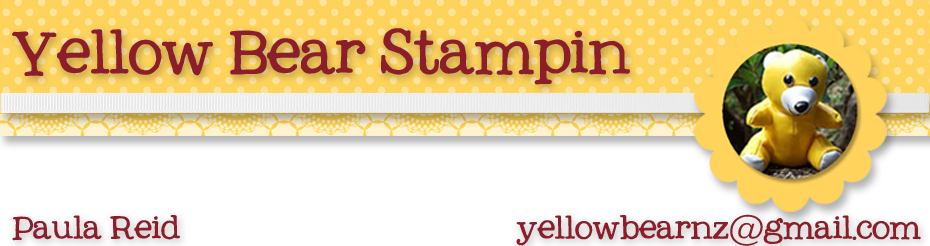 Yellowbear Stampin