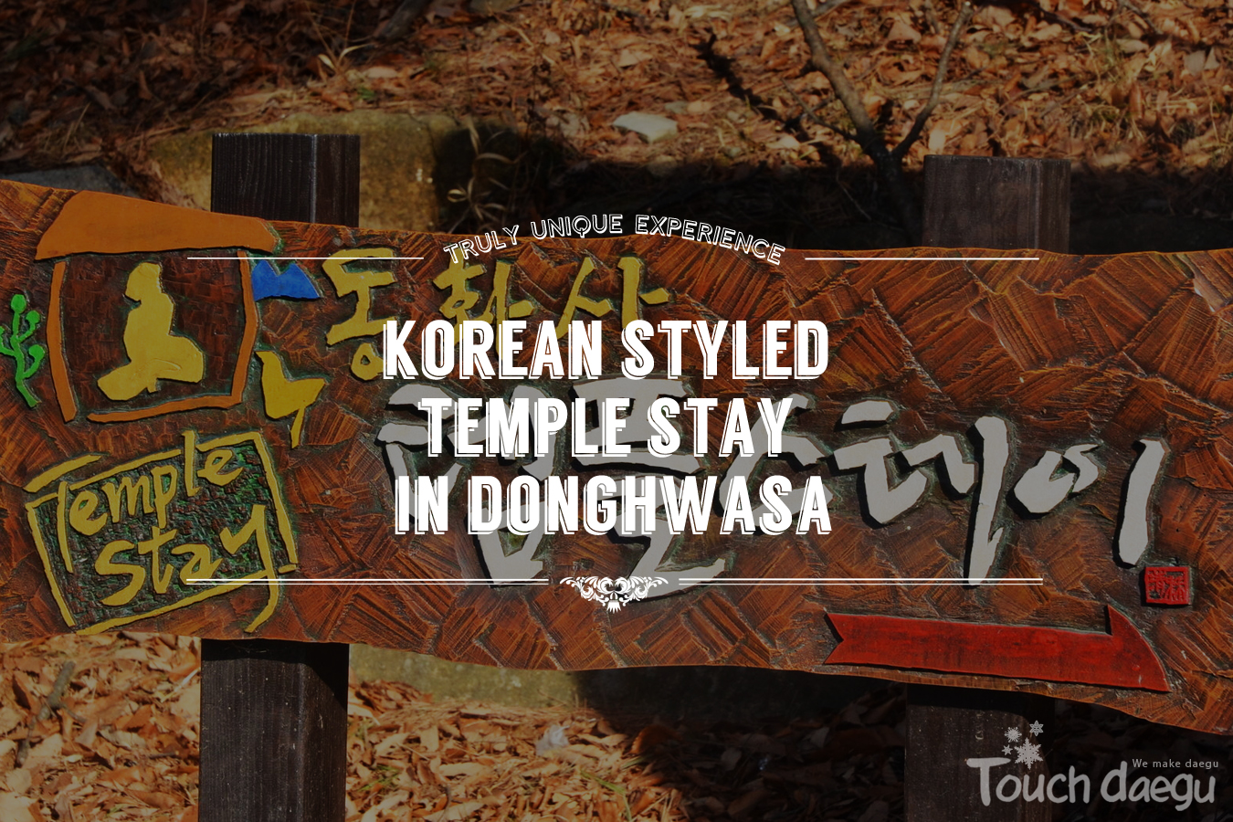 Korean Styled Temple Stay in Donghwasa