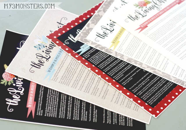 photo regarding The Living Christ Free Printable named My 3 Monsters: Residing Christ Printables