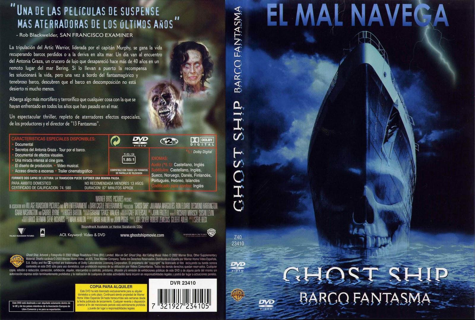 Barco Fantasma 2002 Peliculas Mundo