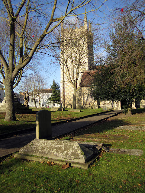 Cemetery and Minster Church of St Mary the Virgin, Reading by TANGRAMartworks