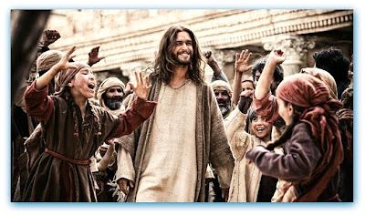 """Imagem de uma cena com Diogo Morgado na série """"The Bible"""", do History Channel"""