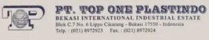 Lowongan Kerja PT. Top One Plastindo Bekasi Januari 2015