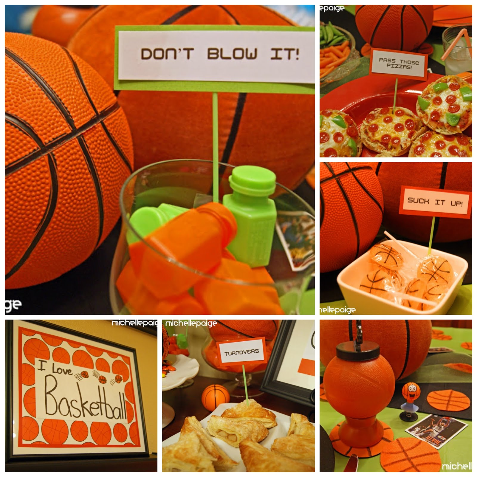 Basketball Pun Party