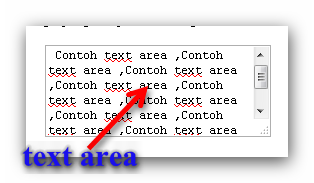 Trik Cara Membuat Text Area Pada Blog terbaru 2012