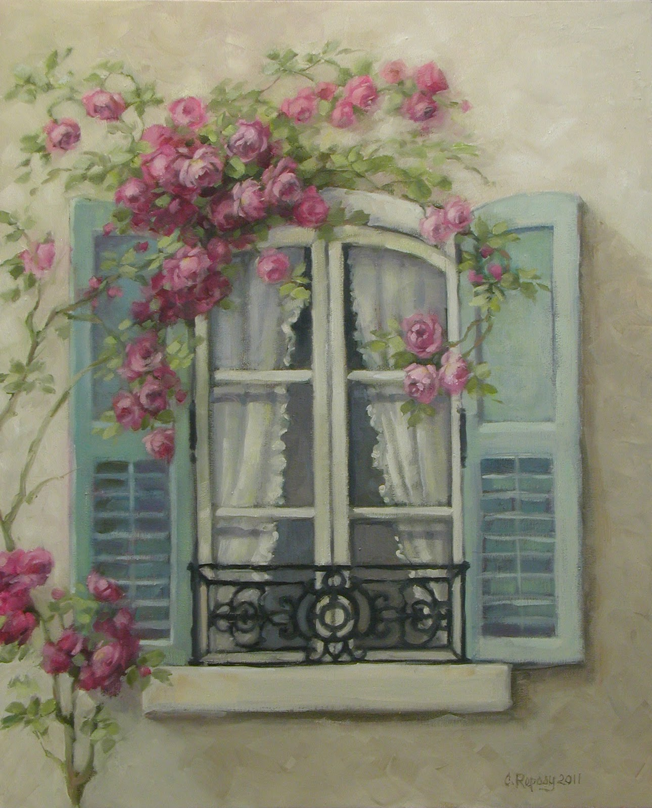 Chateau de fleurs my love of french windows inspired a for French country windows