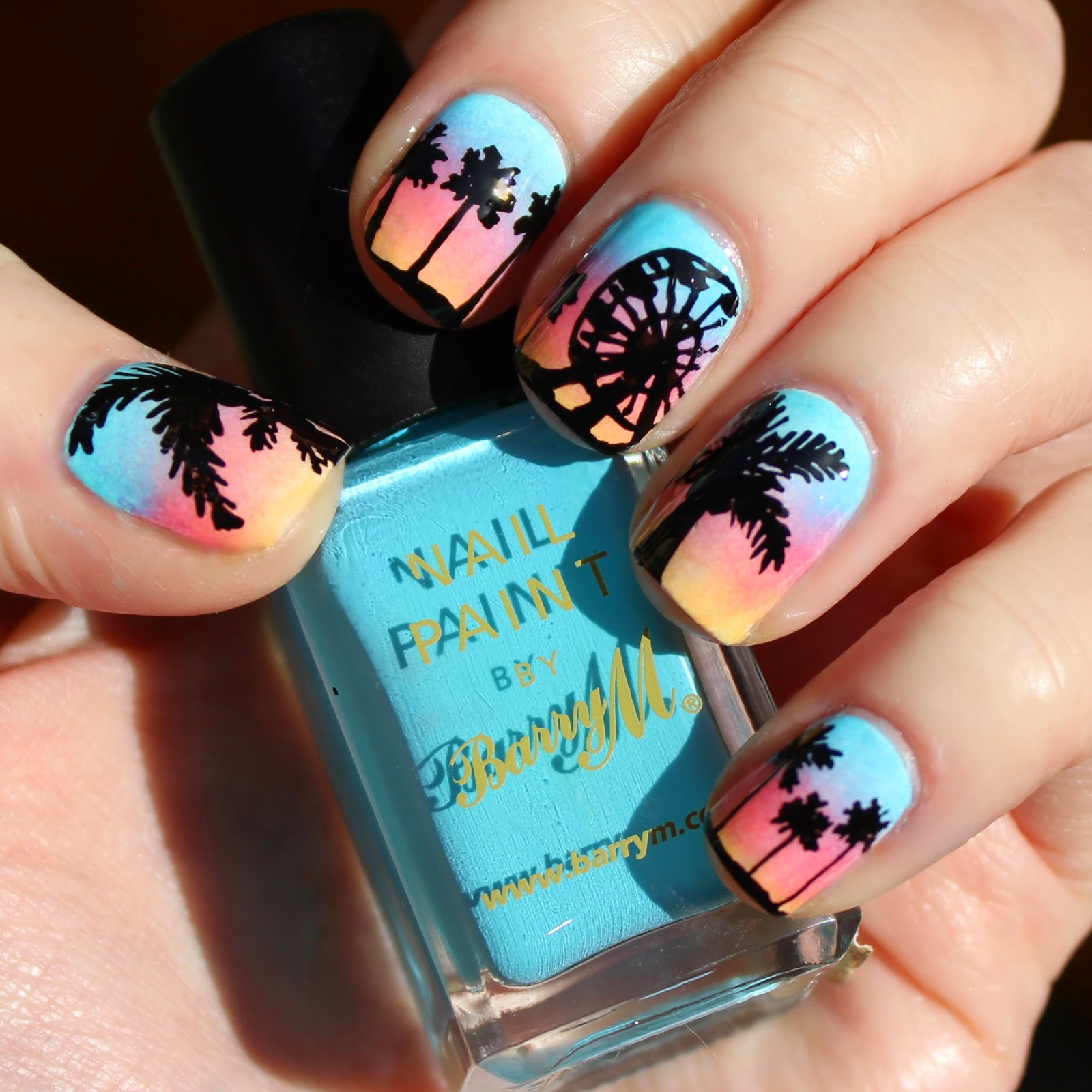 Dahlia nails coachella nail art coachella nail art prinsesfo Choice Image