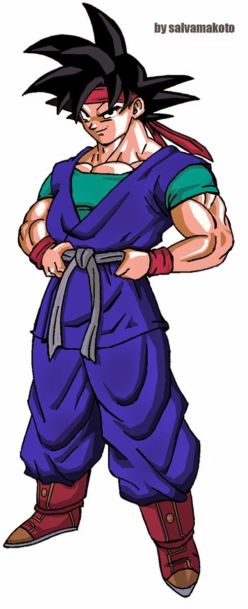 Dragon Ball ZB : Capitulo #05 - A morte da Vovó Pan