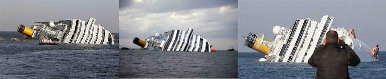 4)Гибель Коста-Конкордии - Титаника 21-го века.