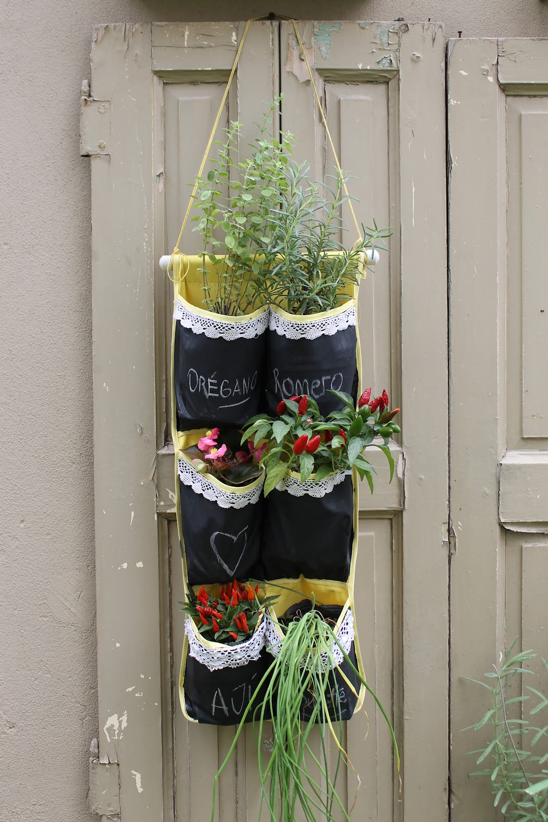 Colaboración: programa Jardineras - Utilísima: Vintage Deco Marce