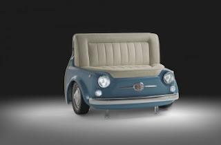 Idee casa idee arredamento originale fiat 500 collection - Fiat 500 divano ...