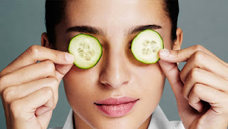 As we all know our eyes are most sensitive than our other skin, many times we can not take care of the eyes in our daily routine make up, so we will tell you, how to take care of them.... very easy... things you need are some kitchen items can be available easily in your kitchen at any time, these things are natural ingredients which can make much charming your eyes. First of all you need as: 1> half cucumber 2> half cup of water 3> cotton rounds 6 these ingredients are used to moisturize your skin around eyes. Now other ingredients may be used as 1> Chamomile Tea 2 bags 2> Water... Warmed this will help you reduce dark circles and spots around your eyes as well as calm them. Now you may need more item which will make your eyes more attractive 1> White Eggs 2 It will help in removing fine lines below your eyes. Watch this video and learn easy steps to make your eyes very attractive, charming, brightening under eyes and refreshing. Natural Mask for Refreshing Eyes