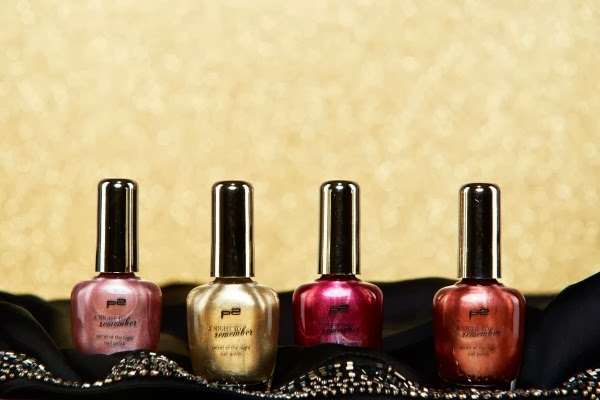 p2 secret of the night nail polish - a night to remember le