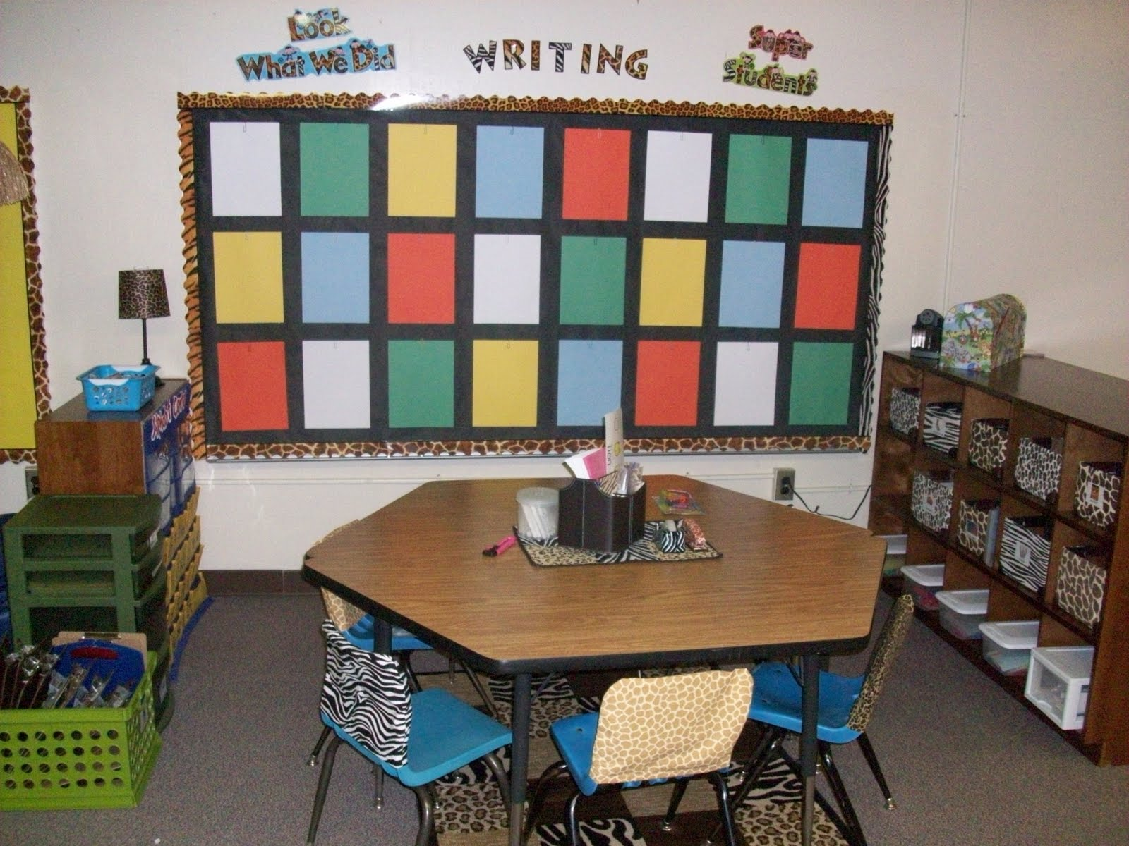 Classroom Jungle Ideas ~ It s a jungle out there kindergarten lots of