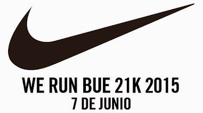 21k Nike Media maratón We run Buenos Aires (Argentina, 07/jun/2015)