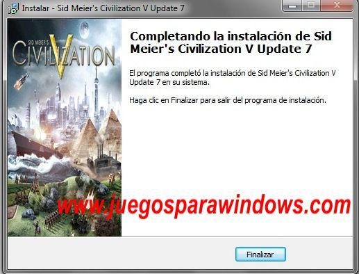 Sid Meier's Civilization V Gods and Kings Imagenes PC Instalacion