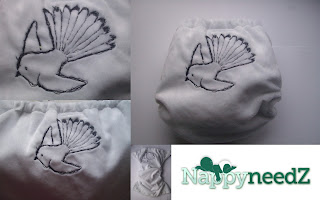 Fantail one of a kind pocket nappy